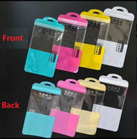 Wholesale retail cell phone cases bags online – deals Zip lock Mobile phone accessories cell phone case earphone USB cable Retail Packing Bag OPP PP PVC Poly plastic packaging bag Free Fast