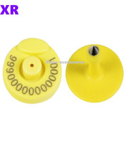 Wholesale pig tags for sale - Group buy TPU Khz RFID Cattle Tag EM4305 Ear Tag Electronic Tag For Animal Identification Management for animal tracking pig cattle sheep