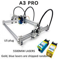 Wholesale laser acrylic engraving for sale - Group buy Wood Router CNC Metal Laser Engraving Machine Stainless Steel Acrylic W A3 Pro mw mw mw mw DIY Mirco USB