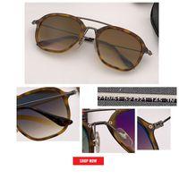 Wholesale ladies designer sun glasses resale online - new DESIGN Fashion Lady Sun glasses Rimless Women man gradient Sunglasses Vintage Alloy Frame Classic Brand Designer Shades Oculo gafas