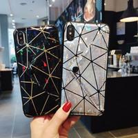 étui rigide en caoutchouc mat achat en gros de-coque de luxe laser enveloppe de téléphone pour iPhone 8 8plus Xs max XR X couverture arrière pour Apple iphone xs xr x cas pour iphone xs max