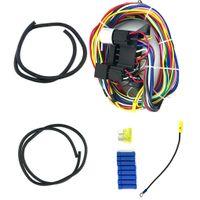 fil machine achat en gros de-Harnais de câblage universel de haute qualité de voiture de muscle de câblage de hot rod rue Rod XL fils