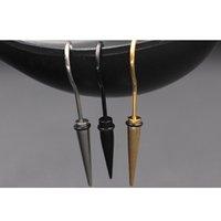 ingrosso ombrelloni in acciaio inox-Top Fashion New Stainless Steel Donne Pendientes Punk Hook Umbrella Orecchini Corea Trend Temperamento Orecchini in acciaio 1pz