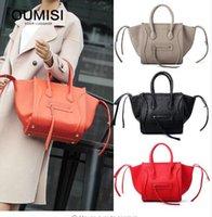 neue frühlingstaschen großhandel-Phantom Bag Handtasche, Frühjahr und Sommer 2018 neue Flügel, europäische und amerikanische minimalistische Tasche, peinliche Tasche, weibliche Tasche groß ca