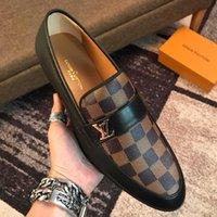erkekler sığ ayakkabıları toptan satış-Yeni Fransız erkek rahat ayakkabılar yüksek kalite düşük yardımcı olmak için sığ ağız deri seyahat rahat erkek yürüyüş ayakkab ...