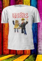 Wholesale free games online online - Roblox Builderman Box Robot Online Game Men Women Unisex T shirt Men Women Unisex Fashion tshirt