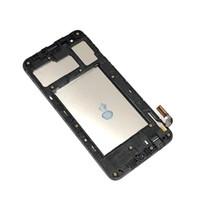 panel değiştirme toptan satış-LG Aristo 2 K8 için Lcd Ekran Meclisi 2018 SP200 Çerçeve Siyah Ile LM-X210M Yedek Parçalar