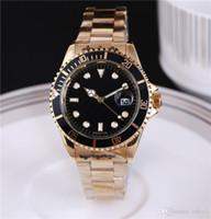 relógio de luxo vencedor venda por atacado-40mm Relogio masculino Mens Relógios Luxo Wist Moda Mostrador Preto Com Calendário Bracklet Folding Fecho Mestre Masculino Relógios de Homens de Luxo