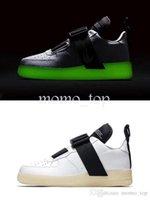лучшие кроссовки бег трусцой оптовых-2019 Chaussures силы утилита QS световой кроссовки для мужчин лучшее качество воздуха Zapatillas спортивный Бегун один кроссовки размер 40-45