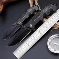 cuchillos de supervivencia de buena calidad al por mayor-Fábrica directa táctico cuchillo automático de alta dureza supervivencia salvaje multifunción cuchillo plegable autodefensa cuchillos al aire libre de buena calidad