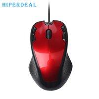 gaming laptops para venda venda por atacado-Boa Venda de Luxo 1800 DPI USB Wired Optical Gaming Mice Rato Para PC Portátil 22 de janeiro