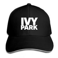 beyonce baskı toptan satış-Beyonce IVY PARK Beyzbol Şapkası Marka Moda Stil Pamuk Kenevir kül Şapka Baskı Unisex Snapback Ayarlanabilir Kadınlar Adam