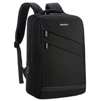 14 zoll laptops großhandel-Business laptop rucksack 14 15,6 zoll mode männer reise back pack multifunktions nylon schule schwarz bagpacks für jugendliche