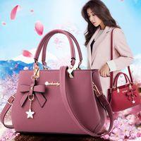 estilo coreano grandes bolsas casuais venda por atacado-WOMEN'S Bag issy Novo Estilo Moda Grande estilo coreano Bolsa de Ombro Casual Shoulder Primavera WOMEN'S Bolsa Boston