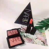 Wholesale lipstick brand 1pcs resale online - 2018 Hot New N S Brand Makeup full size set Set blush pattle lipstick Cosmetics