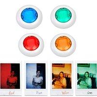 ups camcorder großhandel-Arbeiten Sie neuen bunten Kamerarecorder-Nahaufnahme farbigen Objektiv-Filter für Polaroidkamera Mini7 / 8s um