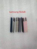 Wholesale phone screen replacement for samsung resale online - Copy Replacement Stylus S Touch Pen mobile phone for Samsung Galaxy Note Note9 black blue slive touch