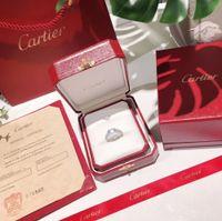 anillo de perlas de racimo negro al por mayor-2019 Nuevo anillo para mujer Anillos para mujer moda encantadora de primera calidad Exquisito impecable Lujo y elegancia