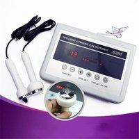 ultrason güzellik cihazları toptan satış-Salon Güzellik Cihaz 628T Masaj Karşıtı Kırışıklık Sıkma Ultrasonik Yüz Makine Cilt Bakımı Yüksek Frekans Ultrason Cilt