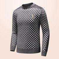 neuer styl großhandel-New Fashion Herren-Pullover für Herbst / Winter 2019 Langarm-Business-Pullover Freizeitkleidung Luxus-Pullover Größe m-3xl-eine Vielzahl von Stil