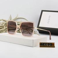 eski menteşe toptan satış-2019 En kaliteli erkek Güneş Gözlüğü Unisex Stil Metal Menteşeleri UV400 Flaş Lens Ile Vintage Kare ulculos De Sol Masculino paket