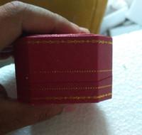 caja de anillo de coche al por mayor-caja de anillo y pulsera de coche rojo