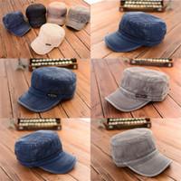 gorras de cadetes del ejército al por mayor-Nueva llegada de cadete gorra de béisbol para mujer para mujer clásico ajustable ejército liso sombrero al por mayor