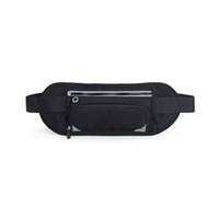 carteira secreta venda por atacado-Invisível Equitação Carteira Da Cintura Saco Da Cintura Bolsa de viagem Ao Ar Livre Correndo Segurança Prático Cinto Ajustável Multifuncional