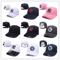 Wholesale york hats for sale - Group buy High Fashion Snapback Cap New York Adjustable Baseball Hats Snapbacks High Quality LA Sport cap men women bone gorras casquette dad hat