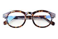 leopard eyewear großhandel-Agstum 47mm Damen Frauen Vollrand Brillenglas Brillen Schwarz Leopard Multi Farbe Rahmenoptik Eyewear Brillen