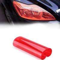 Wholesale car parts for sale - Group buy 2X cm x cm blue yellow smoke Auto Car F Light Dye Lantern Smoke Films Sheets Cover Sticker inch x inch Car Stylin Tools Parts New