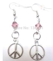 Wholesale musical butterfly for sale - Group buy Vintage Silvers Anchor Musical Note Peace Sign ELEPHANt Owl Snowflake Butterfly Bell Long Drop Dangle Earrings For Women Jewelry