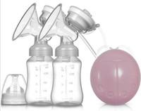 máquinas de ordenha venda por atacado-Bomba de mama materna Elétrica inteligente bomba de mama máquina de ordenha automática de ordenha bomba de mama materna e infantil suprimentos