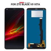 vidro táctil zte venda por atacado-Para zte blade v9 vita display lcd + touch screen digitador painel de vidro assembléia com ferramentas