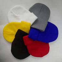 gorros venda por atacado-Desenhador Chapéus Marca Sup Beanie Inverno Beanibes chapéu morno para mulheres e homens Casquette Acrílico Palavras tampão