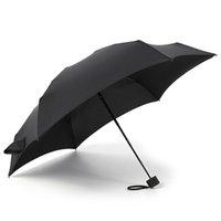 paraguas pequeños plegables al por mayor-Adultos pequeño de la manera plegable paraguas de la lluvia de las mujeres de los hombres del regalo mini bolsillo de chicas Sombrilla anti-UV paraguas playa recorrido impermeable portable