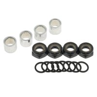 Wholesale axles truck resale online - Skateboard Truck Speed Kit Axle Washers Nuts Spacers for Bearing Performance