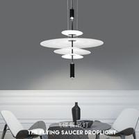 Wholesale black eagle pendant for sale - Group buy Nordic Style Acrylic Spain Designer Restaurant Pendant Lights Art Eagle Light Parlor Bedroom Gallery Cafe Led Light Fixtures