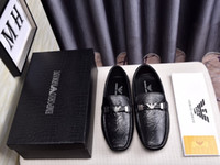 zapatos de guisantes de moda al por mayor-Moda casual conjunto de pies antideslizantes zapatos de guisantes resistentes al desgaste