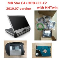 Wholesale wifi obd2 connector for sale - Group buy OBD2 scanner MB STAR C4 Multiplexer Star Diagnosis SD Connect C4 Full Software HHTwin with CFC2 CF C2 diagnostic tool