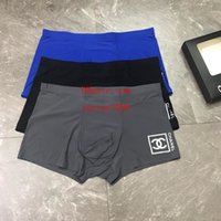 boxers modais xl venda por atacado-Top Marca Mens Boxer Gay Underwear Mens Underwear New Shorts Moda cor sólida Man algodão respirável Sexy Underwear Shorts Boxer A-17
