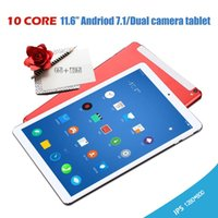 Wholesale android tablet 16 resale online - 2019 android tablet Andriod Ten Core IPS Screen Dual SIM G Phone Tablet PC WIFI RAM G ROM