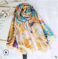 Wholesale gold pink rings for women for sale - Group buy cm Long Scarves For Women Beautiful Fashion Designer Scarfs And Shawls Wraps Hijabs Pashmina Satin Scarves Female Lady s Muf