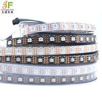 Wholesale 5v rgb led 5m addressable resale online - 1M M APA102 C SK9822 LED Strip leds M RGB Full Color addressable dream color Led strip Light Signal DC5V DAT CLK GND