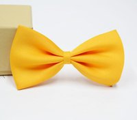 Wholesale boys bowties resale online - baby bows kids neck tie boys ties child ties bowties bowtie baby Child Accessories
