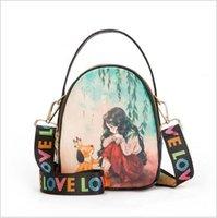 ingrosso borse di moda cinesi-Designer-2019 Ultimo sacchetto PU piccola borsa di modo di stile cinese del messaggero della borsa del progettista della frizione signore mini spalla