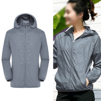 Wholesale air condition jacket for sale - Group buy Men Women Summer Waterproof With Cooling Fan Air Conditioning Coat Sports Hiking Three Gear Gift Jacket Zipper USB Breathable
