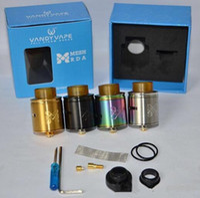 Wholesale electronics china free shipping for sale - Group buy 2019 New product mesh rda atomizer vape tank electronic cigarette vape starter kit china DHL