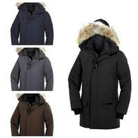 lüks ceketler erkekler toptan satış-Lüks Kanada Aşağı Ceket Erkek DEISGNER Kış Ceket Erkekler Kadınlar Kaliteli Kanada Kış Ceket Dış Giyim Tasarımcı Palto