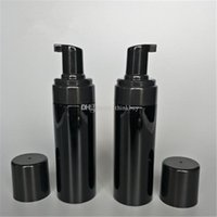 schaum körperwäsche großhandel-150g kunststoff nachfüllbar reise schäumer pumpe flasche körper waschen schwarze seife schäumen pumpen haustier diy flüssig geschirrseife